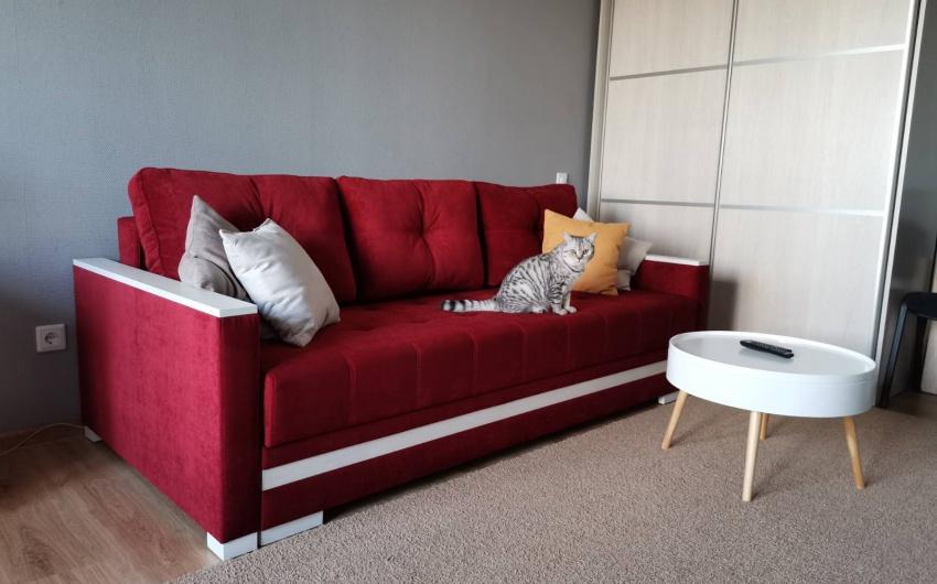 Красный диван Портофино