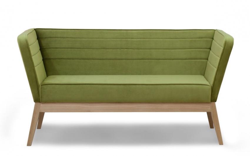 Картинка зеленой скамьи