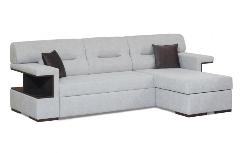 Фото белого углового дивана