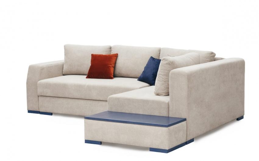 Картинка белый угловой диван