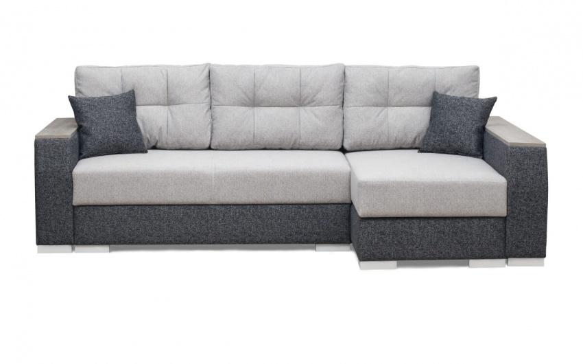 Фото черно-белый диван угловой