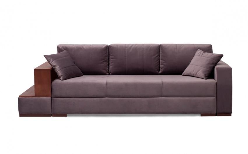 Картинка фиолетовый мягкий диван