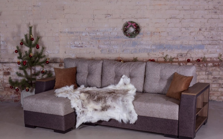Фото диван в скандинавском интерьере
