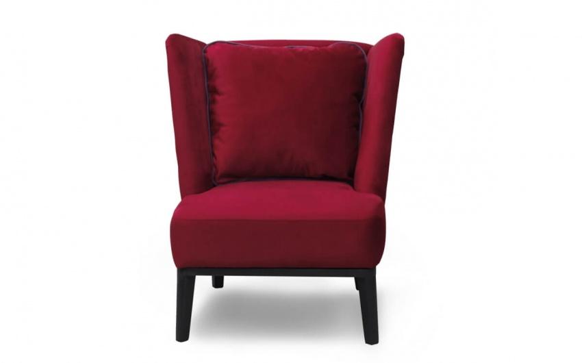 Картинка мягкое кресло в ретро стиле